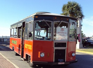 Polly the Trolley, Fernandina Beach Tours