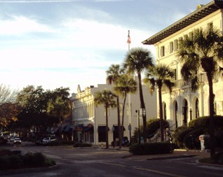 City of Fernandina Beach, Historic Centre Street, Florida