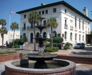 Downtown Fernandina Beach Post Office