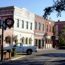 Main Business Corridor of Historic District, Centre Street, Fernandina Beach