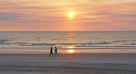 SEASIDE SNAPSHOT: Springtime Sunrise on Amelia Island, Florida