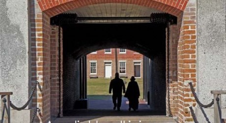 TIME TRAVEL: Walk Through Brick Time Tunnel To 1864 At Fort Clinch