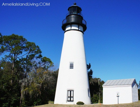 Amelia Island Lighthouse circa 1838