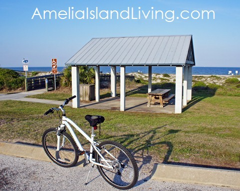 PHOTO: Park & Ride Amelia Island Trail: Peters Point Beachfront Park is Northern Trailhead