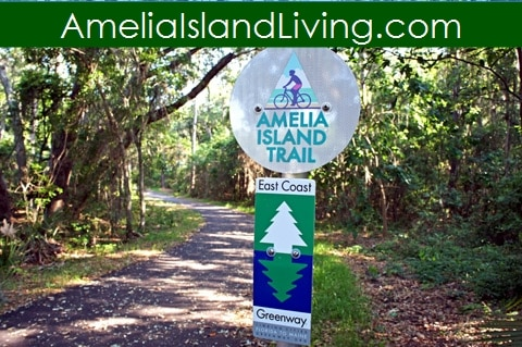BIKE, HIKE, RUN: New 6.2 Mile Amelia Island Trail, Part of East Coast Greenway in Florida