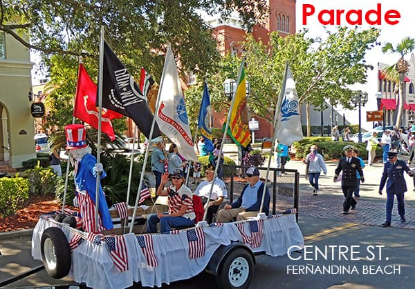 Veterans Day Parade Fernandina Beach