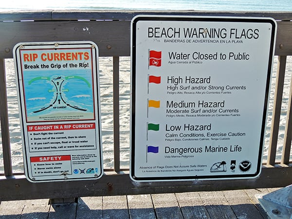 BEACH SAFETY: Pay Attention To Flags & Signs At Beach