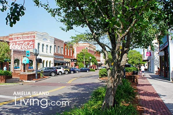 Centre Street, Downtown Fernandina Beach, Florida