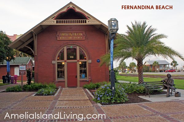 The City's Old Train Depot, Fernandina Beach on Centre Street