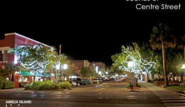 Evening On Centre Street, Historic Downtown Fernandina Beach