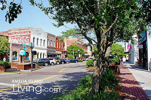 Downtown Fernandina Beach Historic District on Amelia Island, Florida