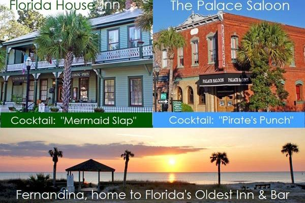 "FLORIDA's ""OLDEST,"" Fernandina's Florida House Inn and Palace Saloon"