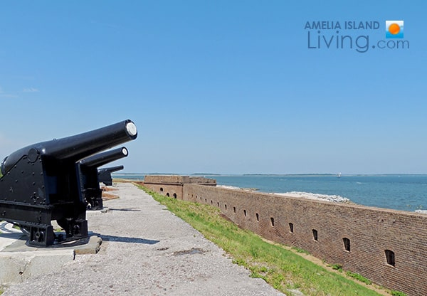 Fort Clinch Waterfront Vista Overlooking Cumberland Sound