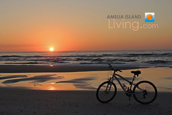 sunrise bike ride Amelia Island