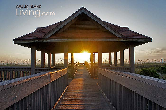 Seaside Park Fernandina Beach on Amelia Island Florida