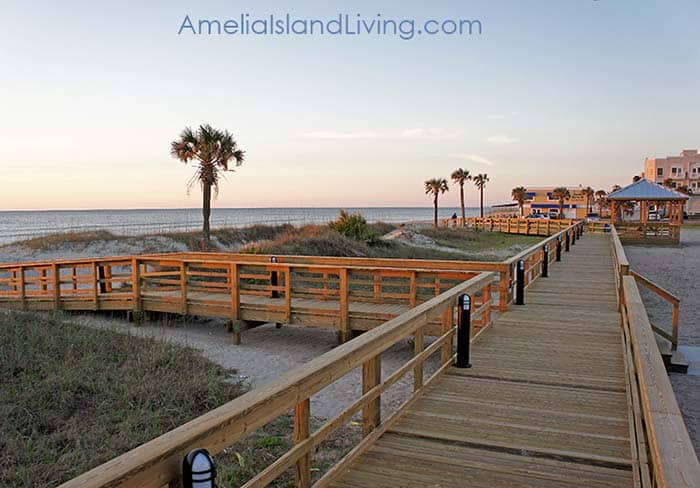 Fernandina Main Beach Boardwalk