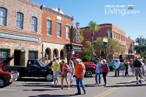 Downtown Fernandina Beach Car Show, Amelia Cruizers