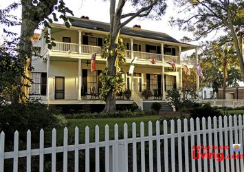 Lesesne House on Centre Street, Downtown Fernandina Historic District