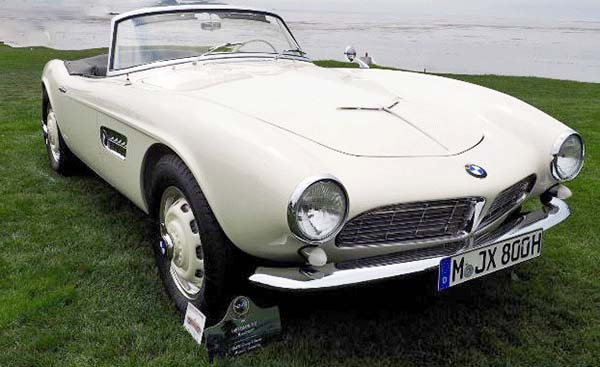 Restored BMW 507 Roadster Formerly Owned By Elvis