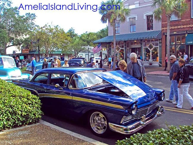 8 Flags Car Show, Downtown Fernandina