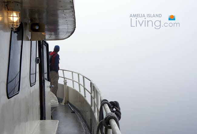 Into The Fog, Cumberland Island Ferry