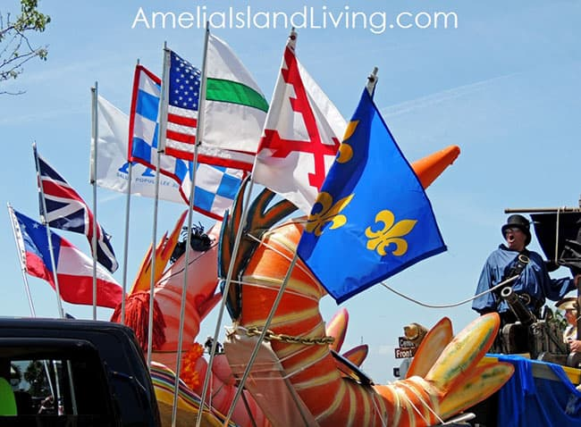 Shrimp Festival Fernandina Isle of Eight Flags