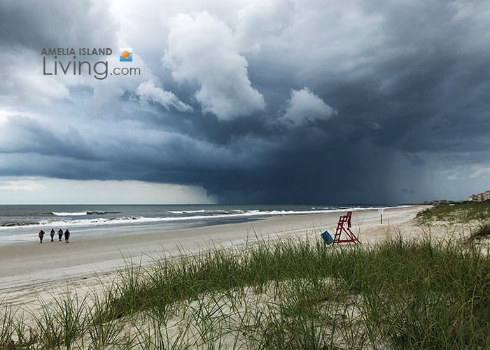 Storm Brewing At The Beach, Amelia Island