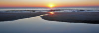 Amelia Island Living magazine sunrise beach tidal pool image