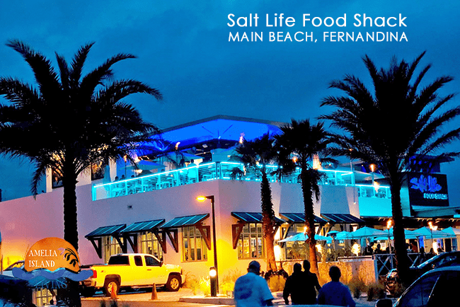 New Fernandina Restaurant, Salt Life Food Shack, Amelia Island, FL