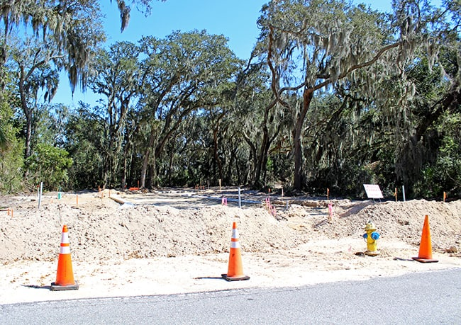 Development Controvery Fernandina Beach Issues Amelia Bluff Stop Work Order