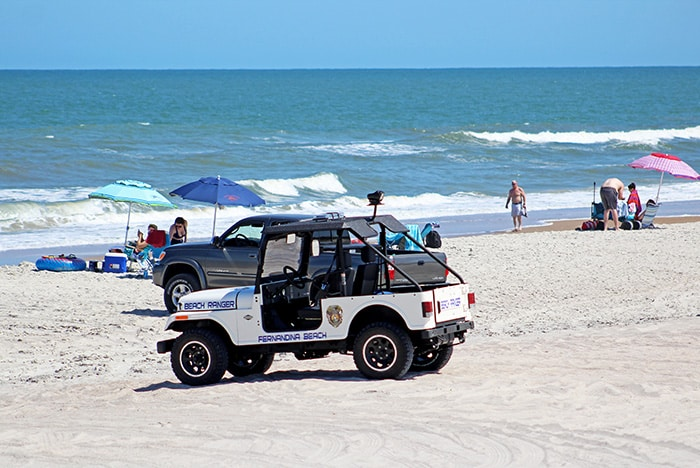 Beach Ranger Vehicle, Seaside Park at Sadler Road 5-24-2019