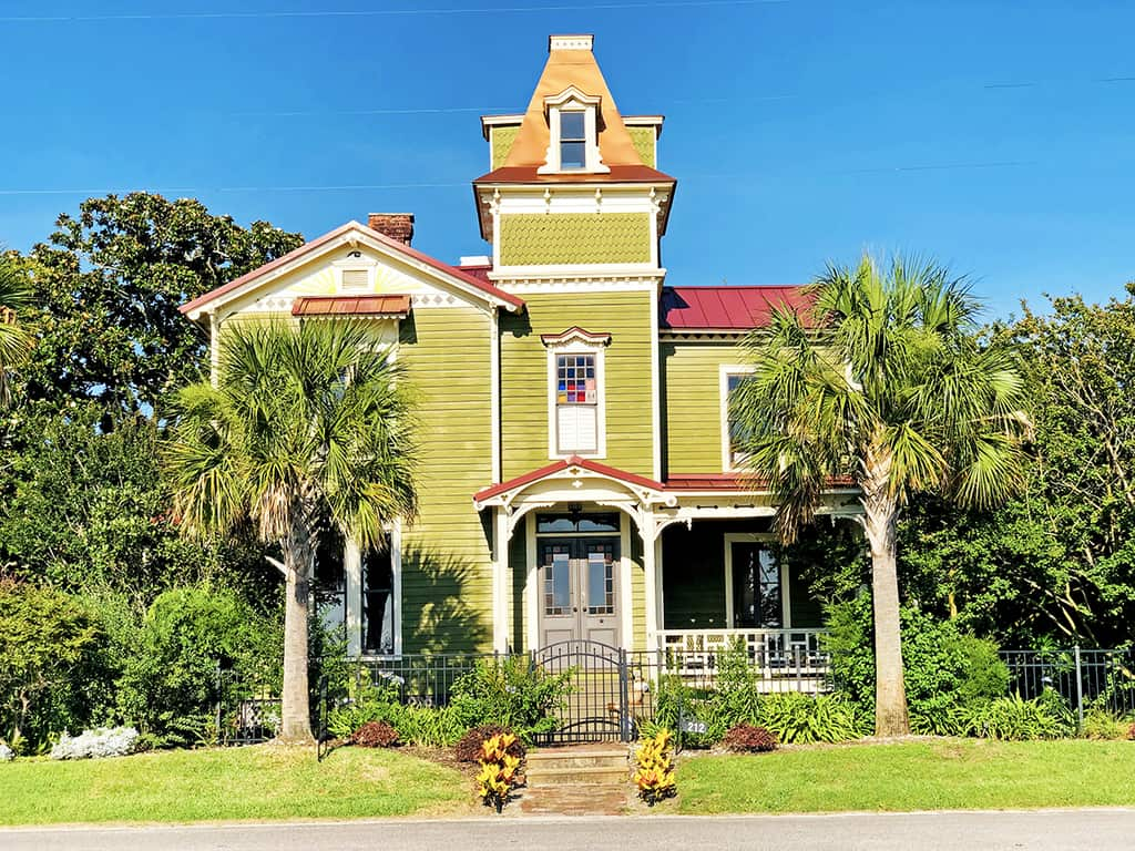 Old Town Fernandina Plaza, Captain's House (Pippi Longstocking)