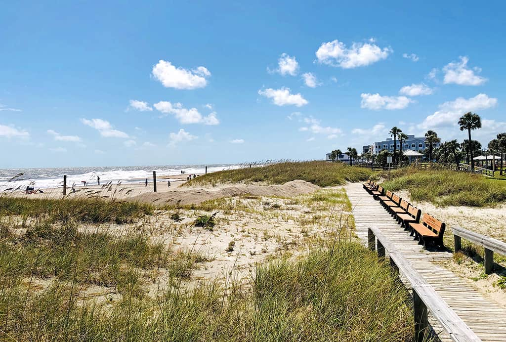 Fernandina Main Beach Park Site of Right Whale Festival November 2-3, 2019