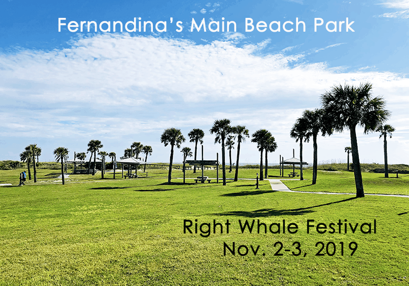 Main Beach Park, Fernandina on Amelia Island, Right Whale Festival 2019