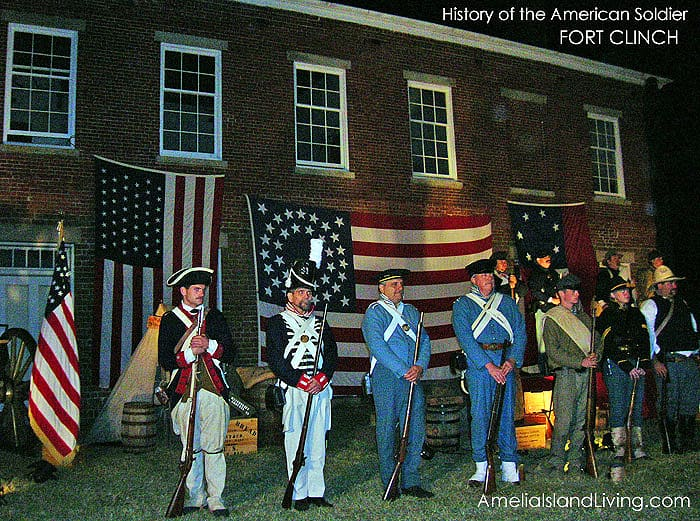 Veterans Tribute Fort Clinch History of American Soldier