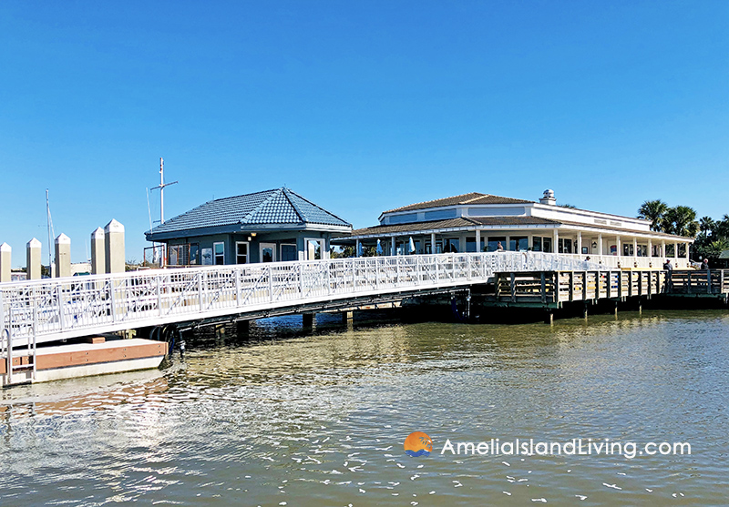 New 80-Foot ADA Compliant Gangway Fernandina Harbor Marina