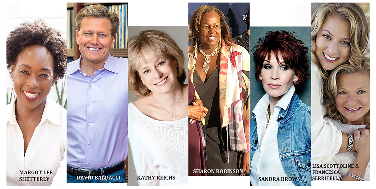 Amelia Island Book Festival 2020 Headline Authors Image