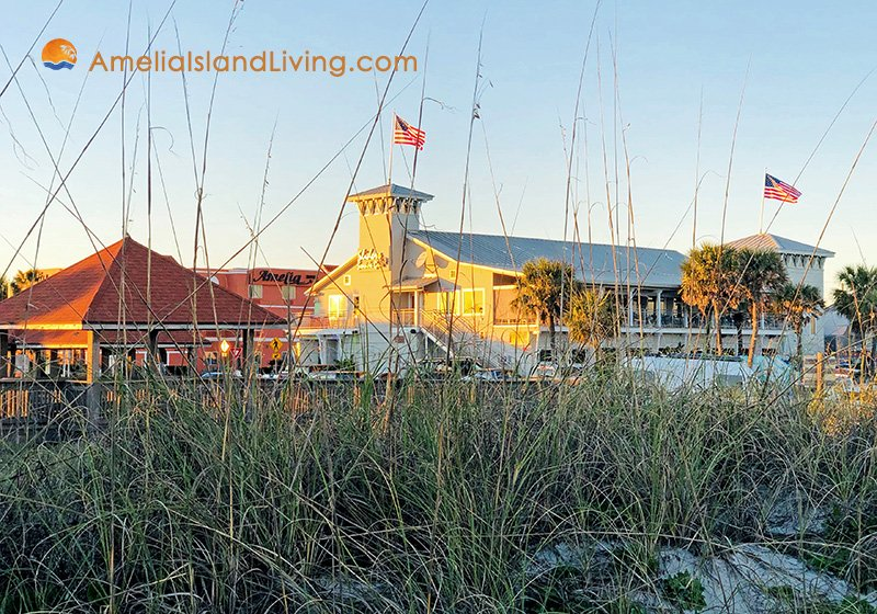 Sliders Seaside Grill, Oceanfront at Seaside Park, Fernandina Beach