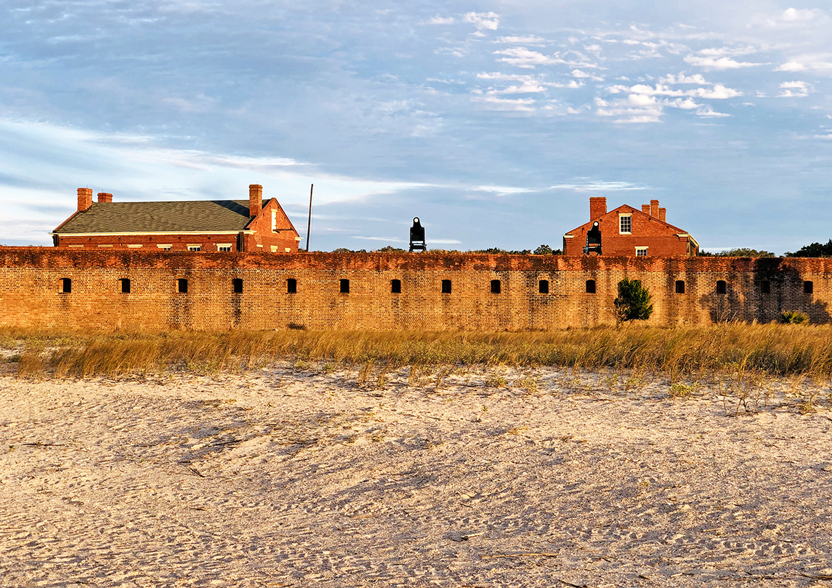 Fort Clinch State Park Located on Amelia Island's North Tip
