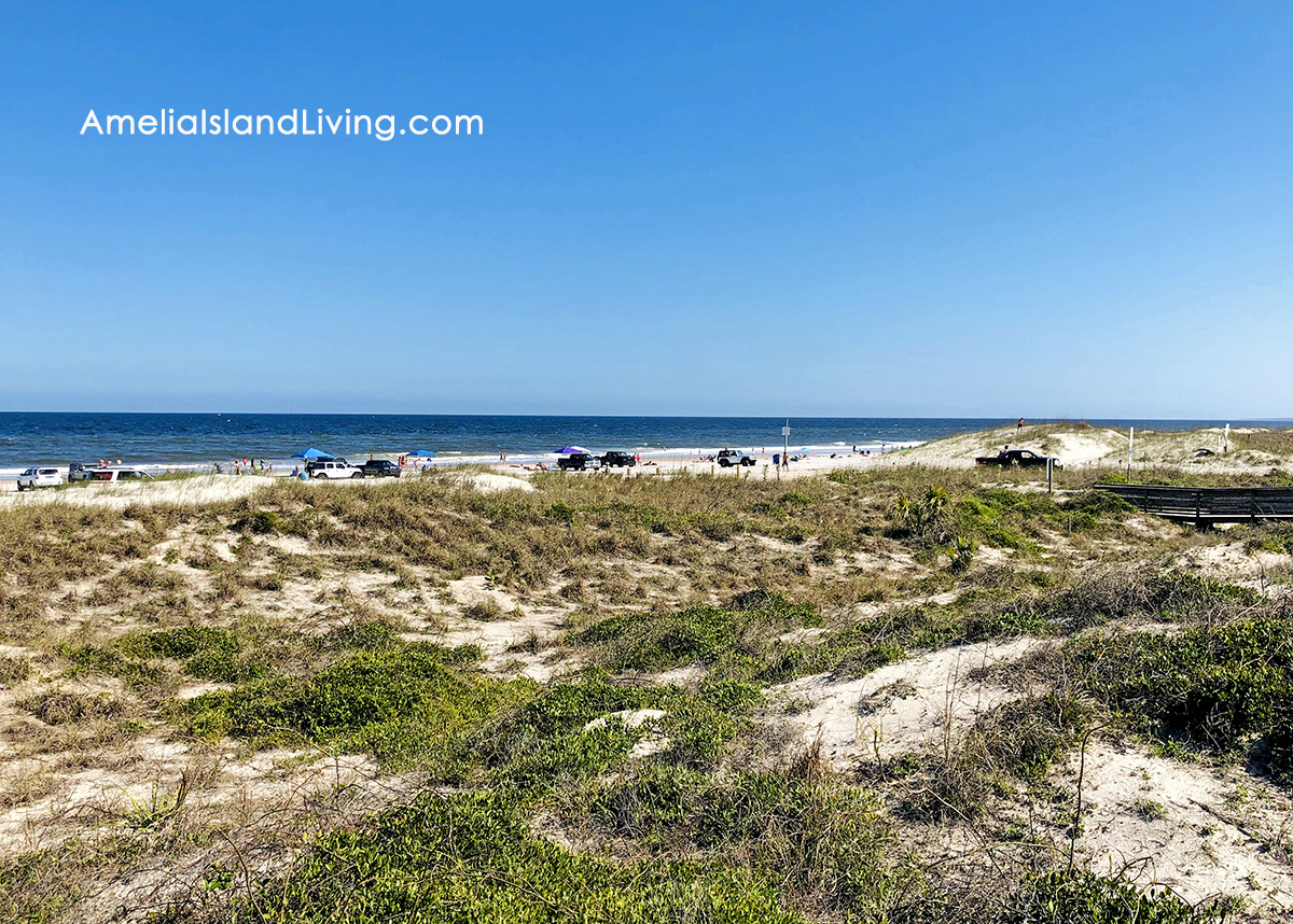 Peters Point Beach on Amelia Island, Nassau County, Florida