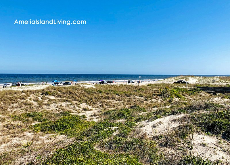 Peters Point Beach on Amelia Island, in Nassau County, Florida. Photo by AmeliaIslandLiving.com magazine (3-19-2020).