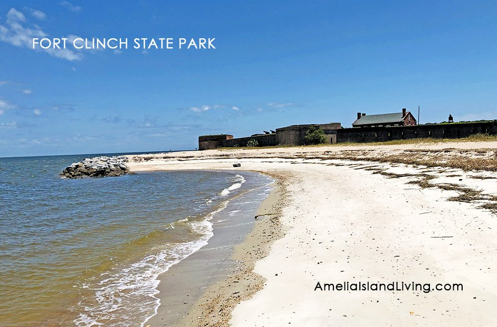 Cumberland Sound Shoreline, Fort Clinch State Park May 13, 2020