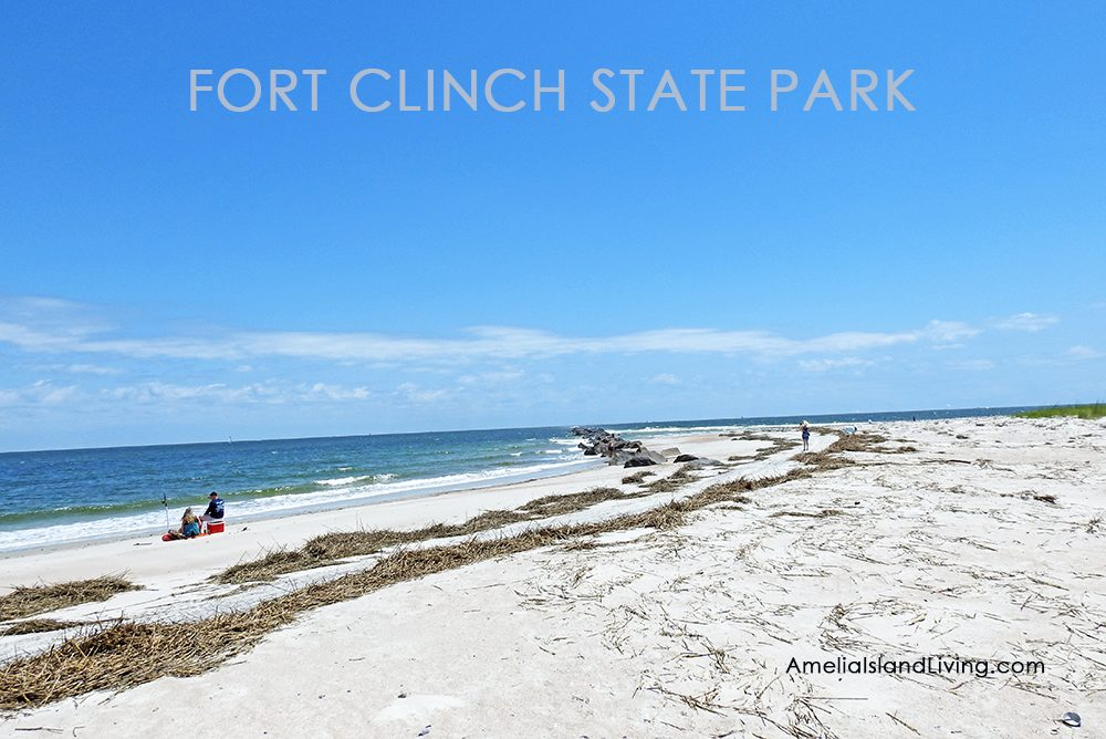 Fort Clinch Shoreline Near Jetty, Park Reopened May 13, 2020