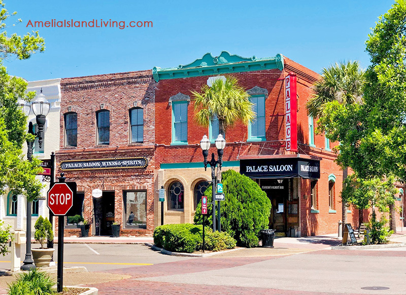 The Palace Saloon, Florida's Oldest Bar, Downtown Fernandina Beach, Amelia Island.