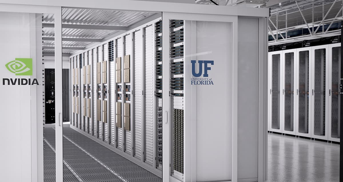 NVIDIA Facebook image public-private partnership University of Florida
