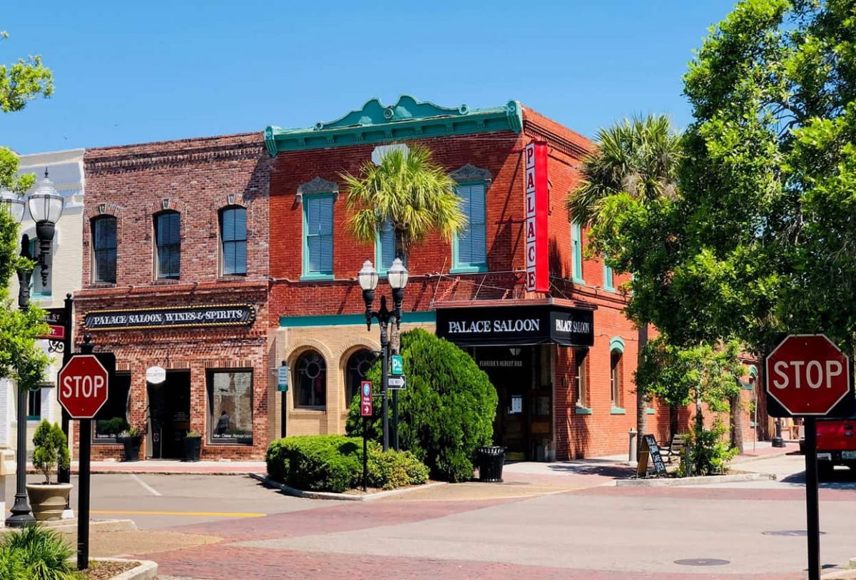 Palace Saloon, Fernandina Beach, Florida. Photo by Amelia Island Living eMagazine.