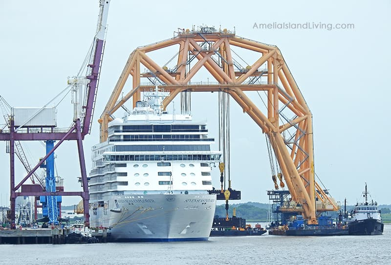 seven-seas-cruise-ship-fernandina-VB-10,000-heavy-lift-vessel-crane